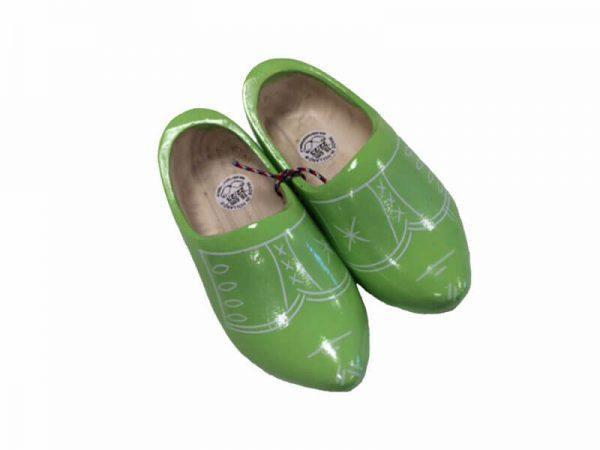 Kinderklompje lime groen