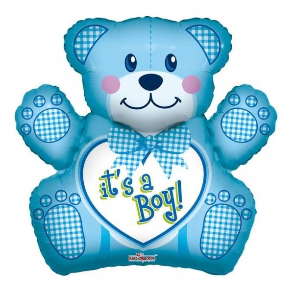 Ballon Baby Boy Bear