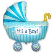 Ballon Baby Boy Buggy